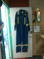 clean used nomex and fire resistant coveralls