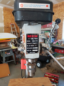 "12 speed 16"" Rexon Dril Press"