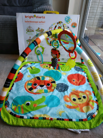 Bright Starts kaleidoscope Safari baby gym