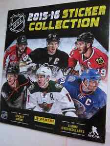 """New COLLECTOR'S EDITION BOOK: """"NHL 2015-16 STICKER COLLECTION"""""""