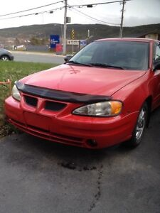 For sale 2003 grand AM V6 automatic