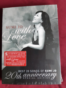 "BNWT, sealed ""Sumi Jo, With Love""  CDS"