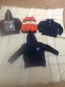 Baby boy 3 years old pullover, vest and sweaters
