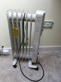 1500w oil filled radiator ×2
