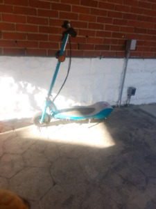 Reduced  razor  electric scooter