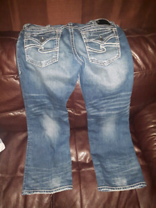 Brand New (without tags) Mens Silver Zac Jean's!!