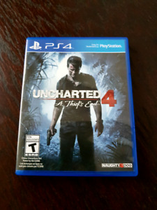 Uncharted 4 ps4 .sell or trade