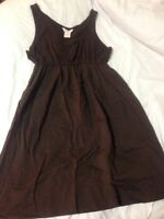 JOE FRESH brown casual dress size LARGE