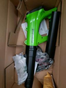 Leaf blower, electric, 24v