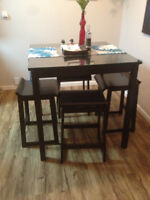 Dining room high top table