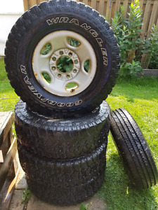 Used Tires & Rims - GMC 2500HD 8 bolt