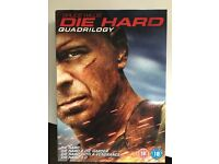 Die hard quadrilliogy box set DVD Bruce willis