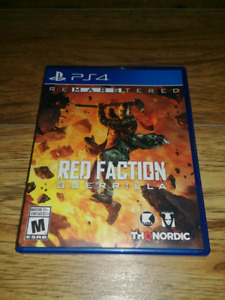 Redfaction Guerilla (Ps4 Remaster)