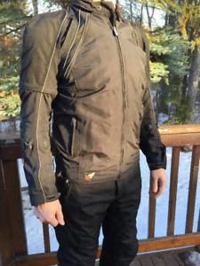 Men's Joe Rocket Motorcycle Jacket and Pants Size Large Tall