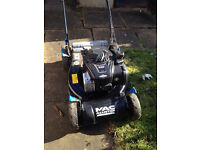"MacAllister Petrol Lawnmower, 18"" Cutting Width, Almost New,in Excellent Condition.Without Grass Box"