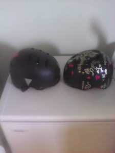 Two bike helmets both for only $20