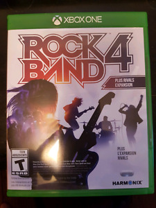 Rock band 4 software xbox one