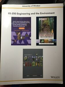 Engineering and the environment - University engineer books