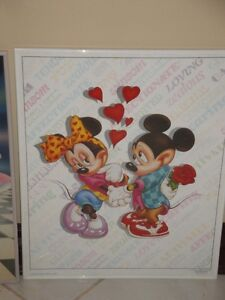 MICKEY MOUSE PICTURES - GLASS WITH METAL FRAME (LIKE NEW) London Ontario image 7
