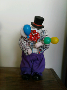 Clown porcelain doll