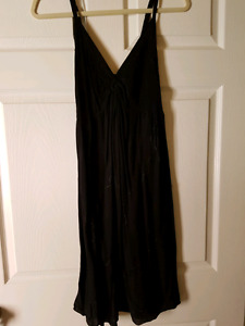 Size medium black summer dress