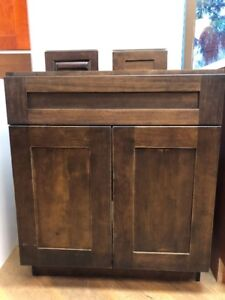 Brown Shaker Cabinet for Sale