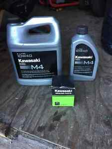 Klr oil and filter