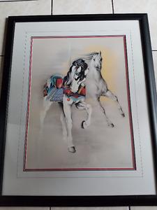 "Joyce Betts ""Enchanted Flight"" Signed Print"