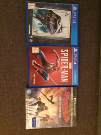 Spiderman and Batman PS4 Bundle