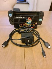 Nintendo Switch (001) Model with Grey Joycons
