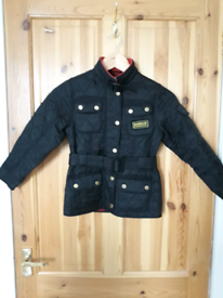 Girls Barbour Liddesdale style jacket age 4/5 / XS