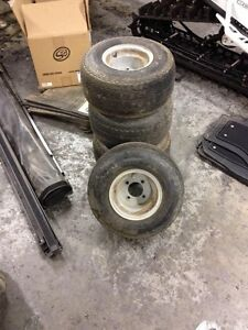 Golf Kart tires and rims