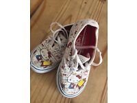 Limited Addition Hello Kitty Vans Trainers