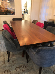 Elegant and modern dining room chairs
