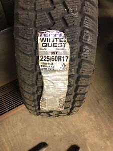 Two brand new 225/60/17 winter tires