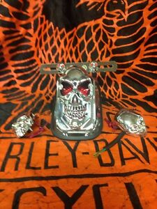 Tombstone Skull Tail Lights with turning signals Windsor Region Ontario image 2