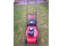 "Lawn King 16"" petrol push mower"
