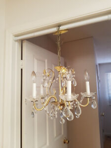 Elegant 5 Light Crystal Chandelier