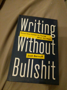 Writing without Bulls**t