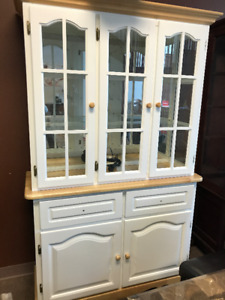Brand new White Hutch for clearance $349