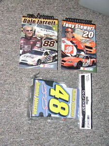 Tony Stewart & Dale Jarrett Note Pads - NEW - $2.00 For ALL !!!