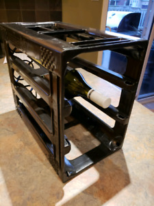 Wine Rack Storage System - 5 x 6 bottle racks