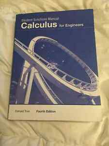 Calculus for engineers solutions manual