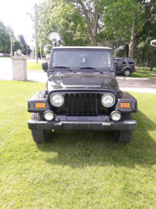 REDUCED Certified 2003 jeep tj $7500