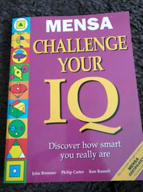 ** REDUCED ** Mensa book