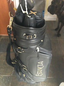 Belding Sport Custom Tour Golf Bag . Leather with leather cover London Ontario image 4
