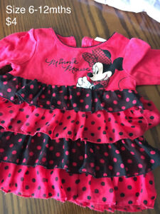 Minnie Mouse shirt size 6-12months