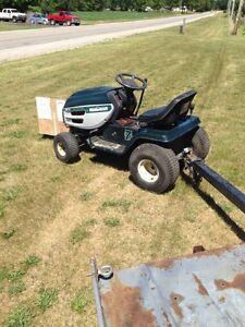 Mastercraft 16 hp riding lawn mower