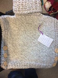 Knit baby and toddler sweaters