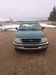 1997 Ford F150 Green